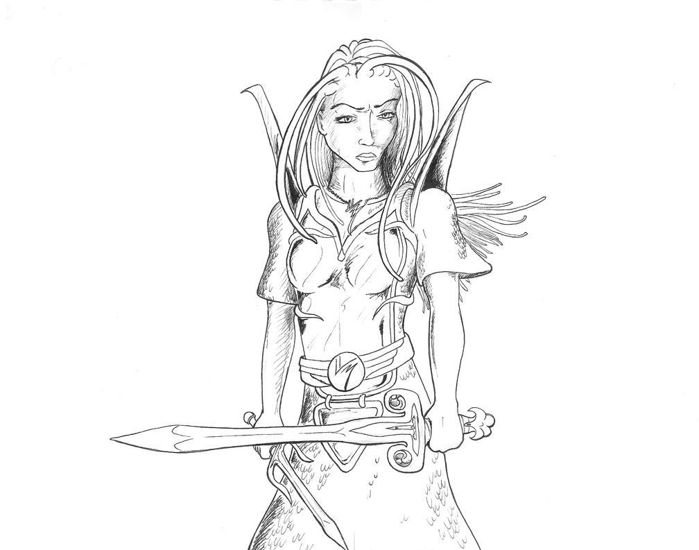 Cirra of Arroway by kridxen