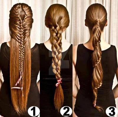 elegant braid by whiteazalea