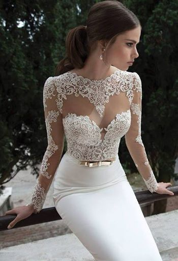 Gorgeous Berta Wedding Dress  by whiteazalea
