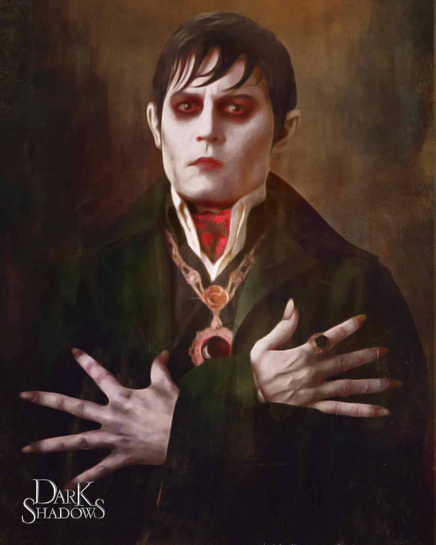 Barnabas Collins Portrait by schoolessay