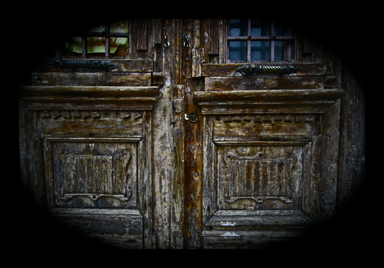 Locked Door with the Lost Key by Hermetic-Wings