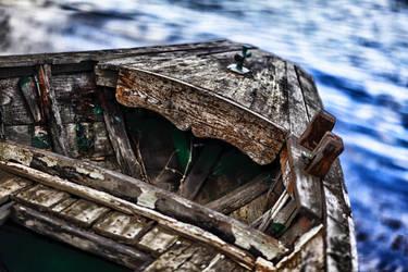 Old boat by Hermetic-Wings