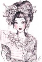 Geisha 2 by Kastile