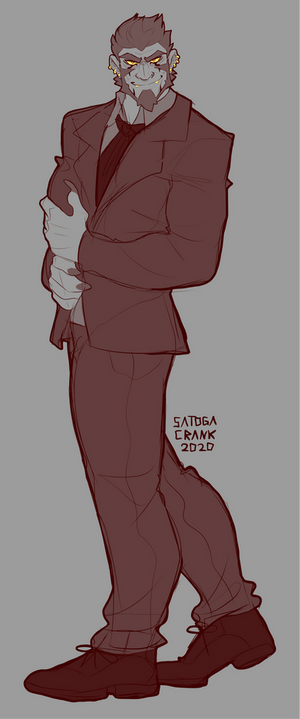 Amon In A Suit 2