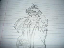 Ryu Sketch by AKUMAGOUKIDEMON666
