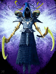 Diablo 3 contest - Malthael by gothicAge