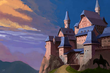 Castel concept by gothicAge