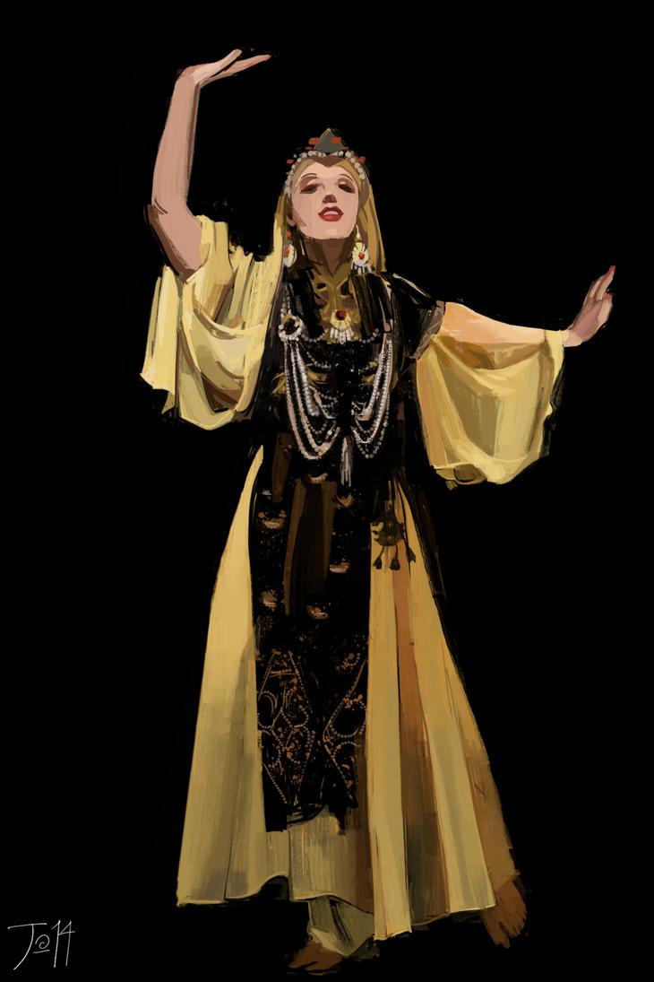 Uzbec Dancer by gothicAge