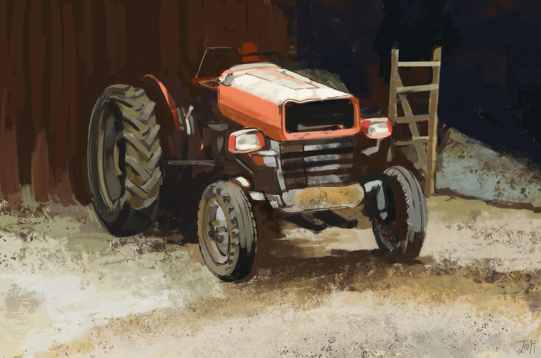 Traktor 1 by gothicAge