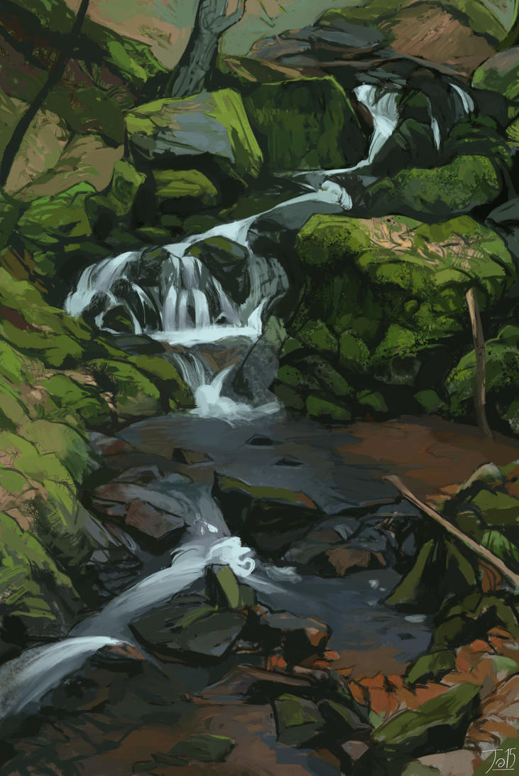Waldbach a by gothicAge