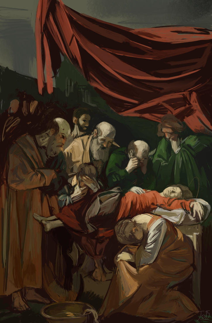 Mastercopy - Caravaggio- by gothicAge