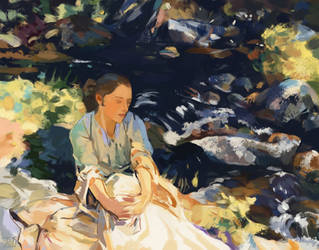 Black Brook by Sargent by gothicAge