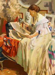 Fernand Toussaint-The Japanese Print