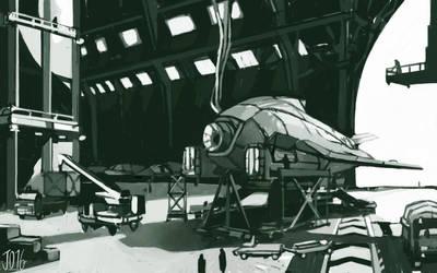 Hangar by gothicAge