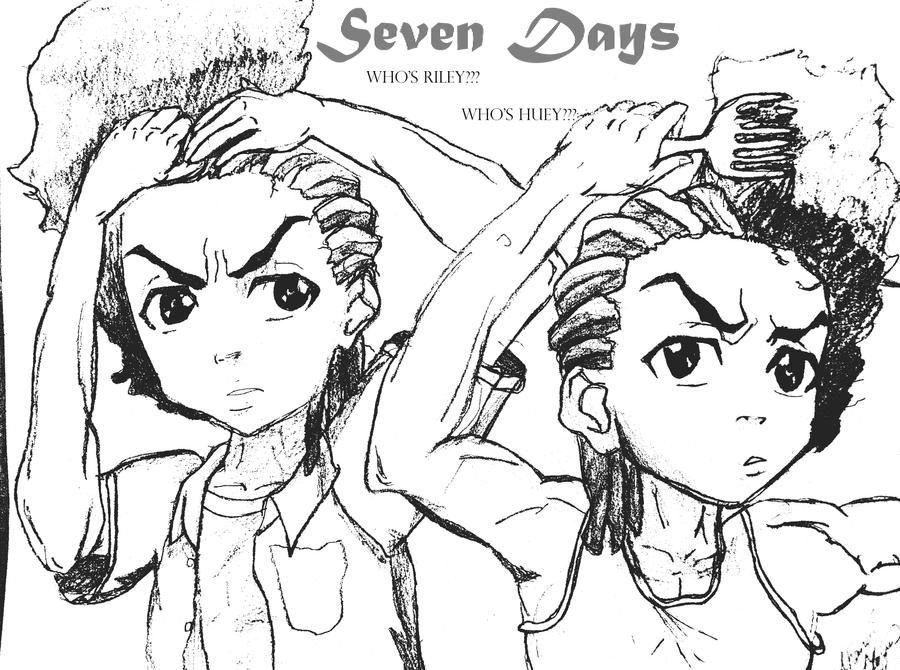 the boondocks coloring pages - boondocks grandad coloring pages