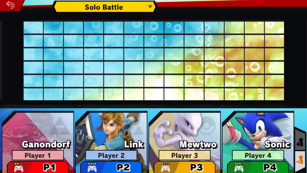 Super Smash Bros. Ultimate Roster Template by NirokentheHedgehog on ...