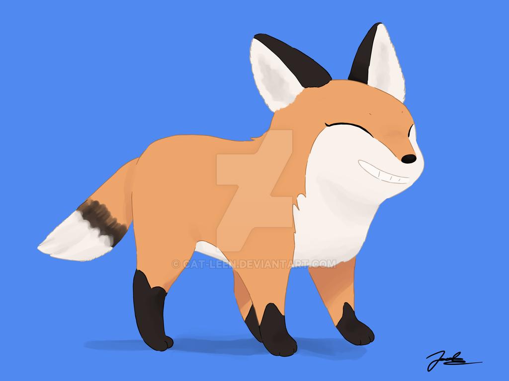 Little fox by Cat-Leen