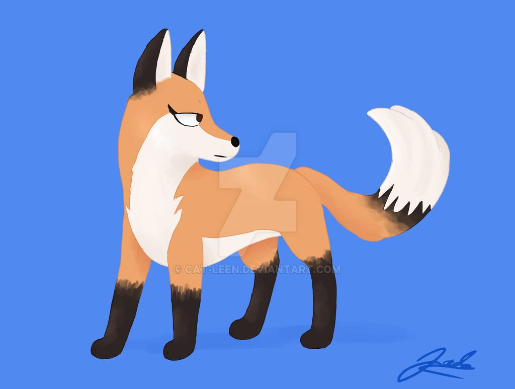 Fox by Cat-Leen