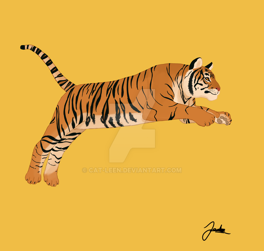 Tiger by Cat-Leen