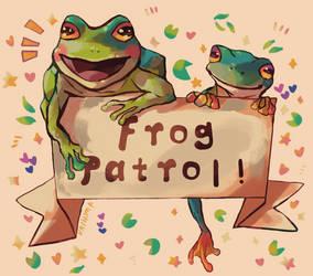 FROG PATROL!