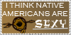Sexy Native Americans Stamp by xXPariahsXx