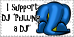 Pulling A DJ Support Stamp by xXPariahsXx