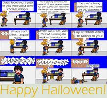 A Halloween comic
