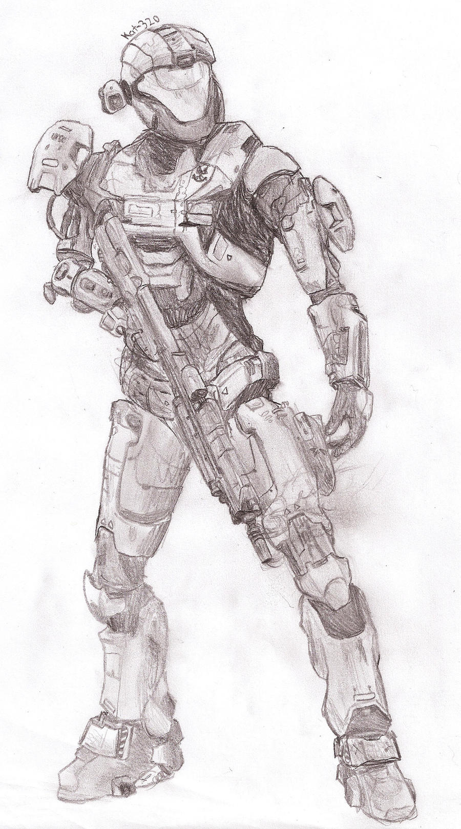Pin Drawing Halo Reach Emiles Eva on Pinterest