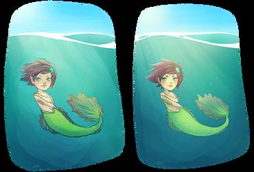 Mermaid by tiny-jumy