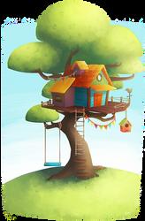Treehous by tiny-jumy