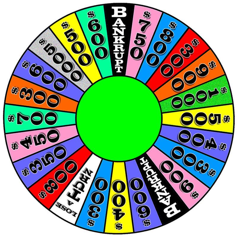 online wheel of fortune template - michael 39 s wheel round 4 by drummingoni on deviantart