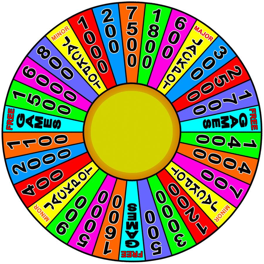 Cash Spin Wheel by Gradyz033