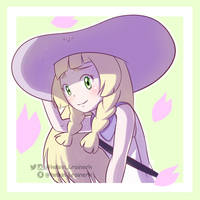 Lillie - Pokemon Sun and Moon by kelvin-trainerk