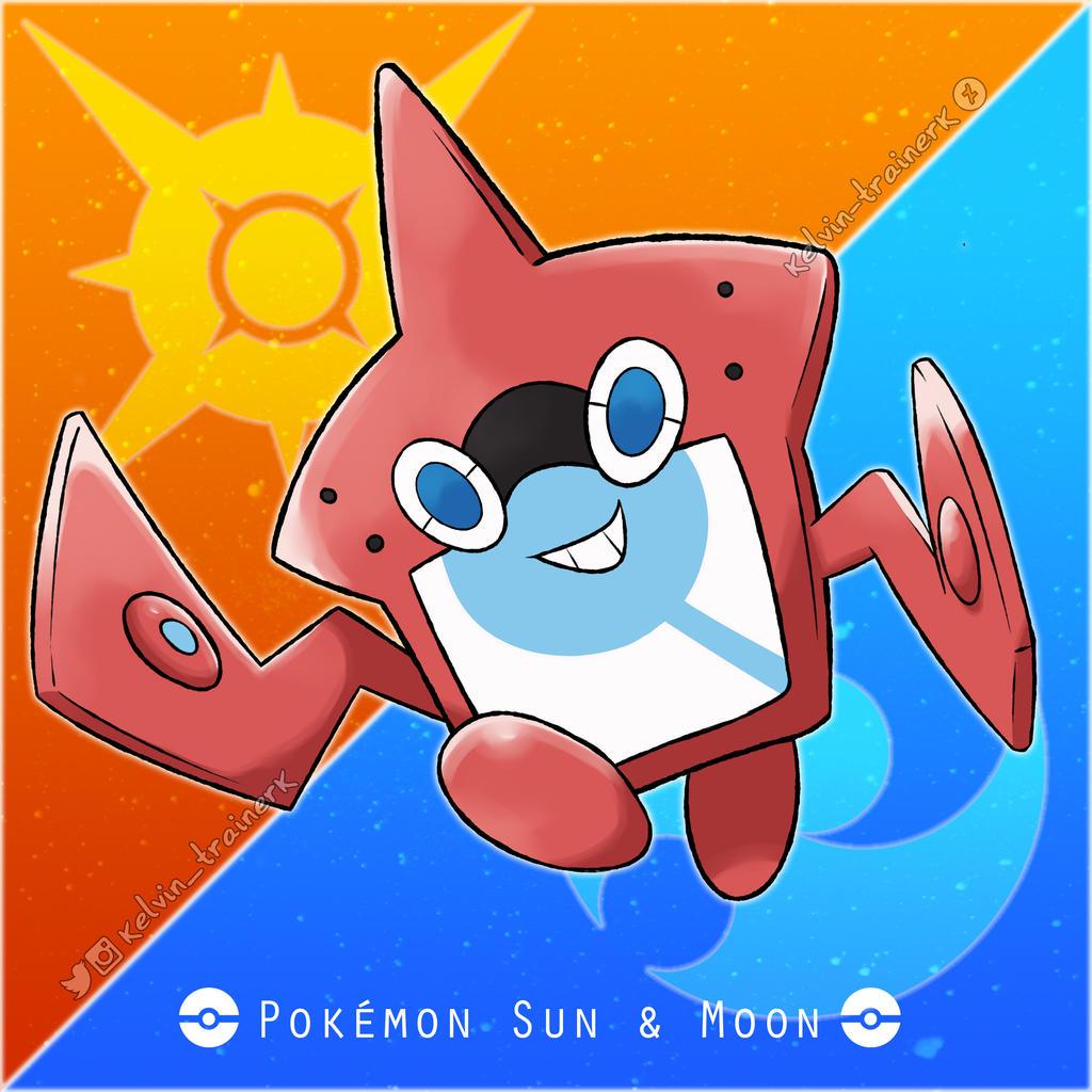 Rotom Dex Pokemon Sun And Moon Images