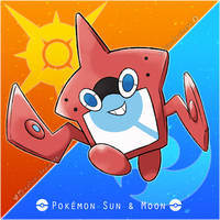 017 Rotom Pokedex - Sun and Moon Project by kelvin-trainerk
