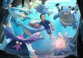 [Commission] Underwater Adventure by kelvin-trainerk