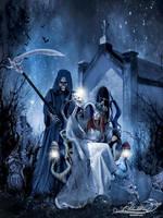 High Priestess-Hallows Eve by Ablackwind