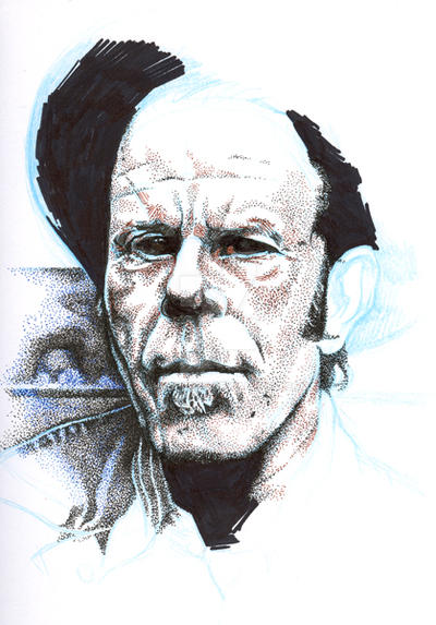 Tom Waits, work in progress by nakedDerby