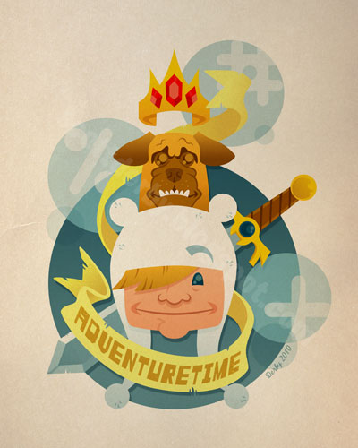 Adventure Time by nakedDerby