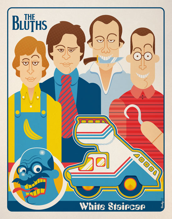 The Bluths- White Staircar by nakedDerby