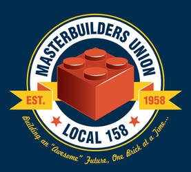 Masterbuilders Union on TEEFURY.COM, 12/4 by nakedDerby