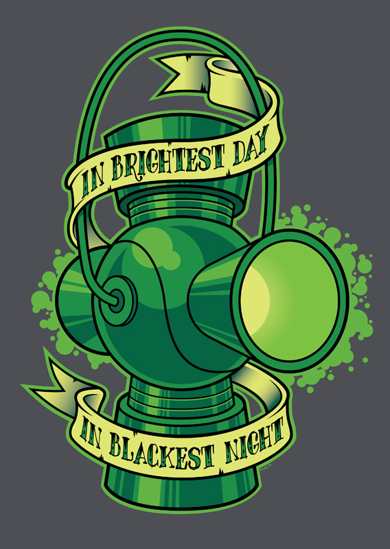 In Brightest Day by nakedDerby