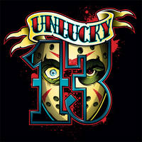 Unlucky 13 design on Teefury.com, 11/13/15
