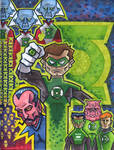 Green Lanterns montage
