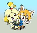 Retsuko And Issabelle!