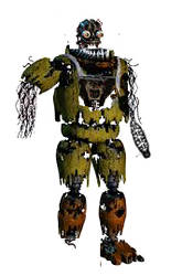 withered withered Nightmare Chica by chicafan17