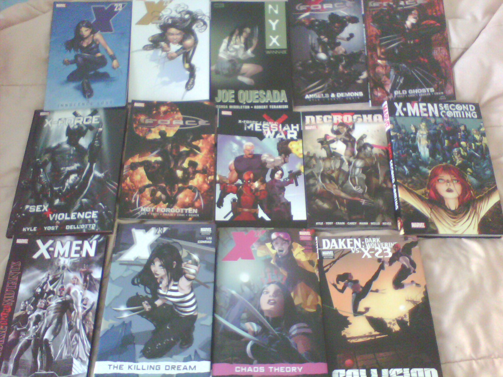 My X-23 Comic Collection by ShaianWillems