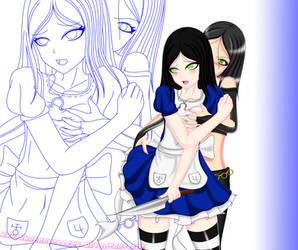Alice X X-23 Ecchi Part 3 Colored