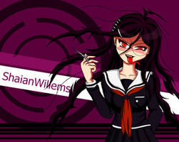 Genocider Syo colored finished wallpaper