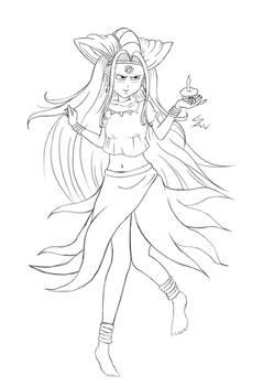 DBGT-Oceanus Shenron sketch